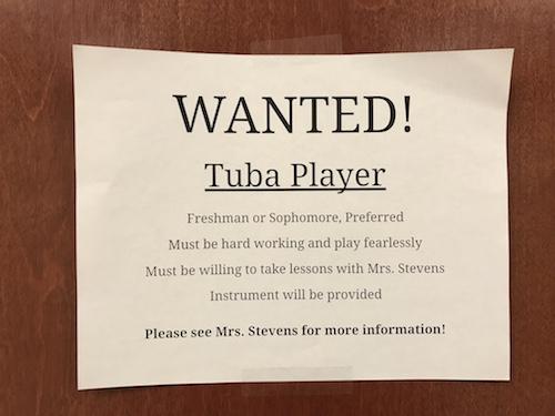 TubaWanted