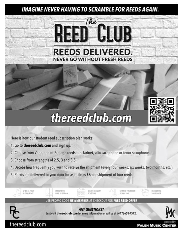 Reed Club Flyer